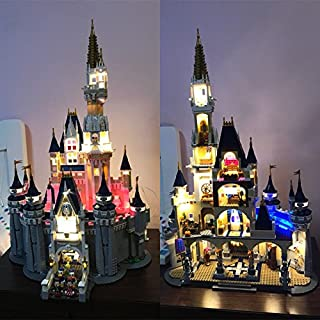 brickled Disney Castle Tower Lighting Kit for Lego 71040 (Lego Set not incuded)