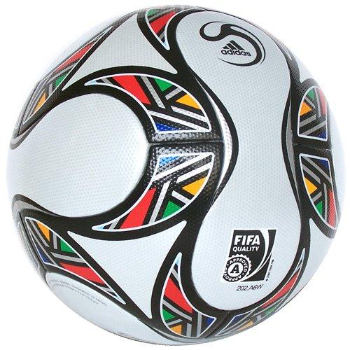 Adidas - Balón de fútbol oficial de Jabulani Kopanya, color blanco ...