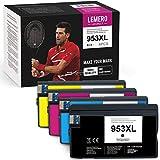 LEMERO UEXPECT Cartuchos de tinta 953XL compatibles con HP 953 XL para HP Officejet Pro 8710 8720 8715 8730 8740 7740 7720 8210 8718 8719 8725 8218 (BK/C/M/Y)