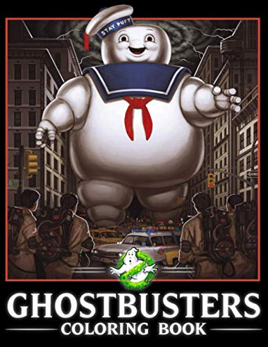 Ghostbusters Coloring Book, with over 90 Coloring Pages of stunning Illustrations