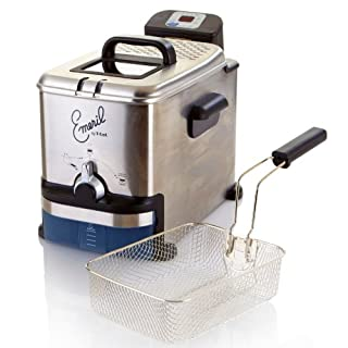 emeril by t fal fr7009 3 3 liter stainless steel digital immersion deep fryer with easy clean system 2 65 pound silver b000j6dxhw amazon price tracker tracking amazon price history charts amazon price watches amazon camelcamelcamel