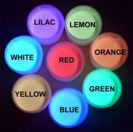 Blue Neon Daytime Invisible Paint 1oz, UV Reactive, Rave