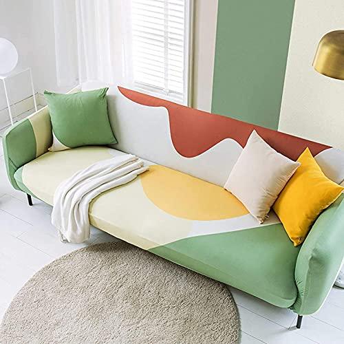 HZYDD Funda protectora resistente al polvo, resistente al desgaste, suave funda de sofá con telas de diseño ajustadas, lavable a máquina, fácil instalación rápida (3 asientos) - L: 190 - 230 cm