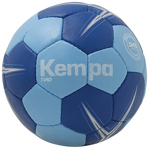 Kempa Tiro Lite Profile Ball Handball, eisblau/Royal, 0