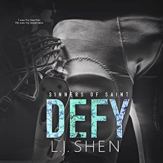 Defy     Sinners of Saint, Book 0.5              Written by:                                                                                                                                 L.J. Shen                               Narrated by:                                                                                                                                 Tracey Marks                      Length: 3 hrs and 18 mins     2 ratings     Overall 4.0