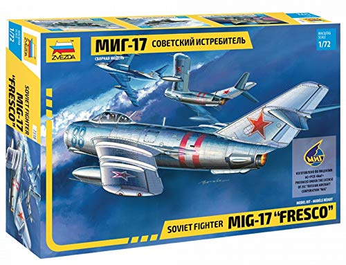 Zvezda 7318 500787318-1:72 MIG-17 Fresco Soviet Fighter -