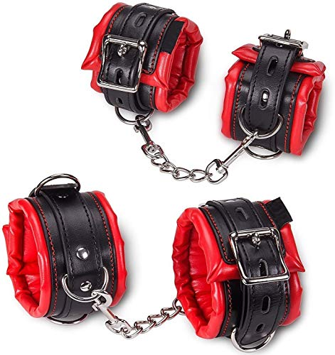 Xocity Sm handschellen handfesseln BDSM Fetich Sex spielzeug Bondage Set Für Fesseln sex Fetisch Sexspielzeug für Paare Extrem