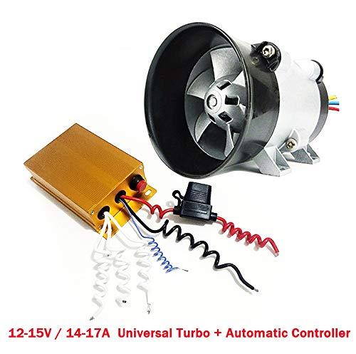 LnNcWcD Turbina eléctrica Turbo Coche Universal Carregador con automática Controlador 35000 Cargador...