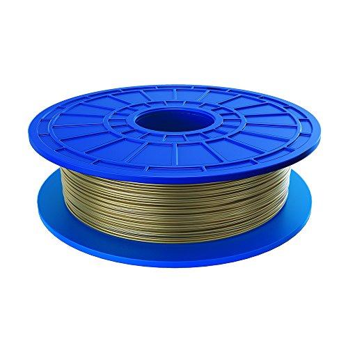 Dremel 26153D51JA - PLA filamento prodotto da piante, Riciclabile, 1,75 millimetri, Stampante 3d, Oro
