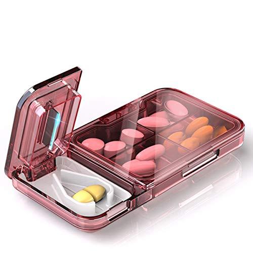Mecozy Pill Cutter Splitter Portable Tablet Cutter with Blade Multiple Pill...