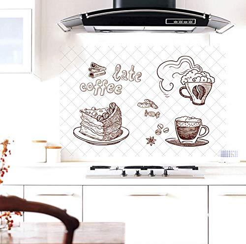 KOONNG Pegatinas de Pared Mariposas Pegatinas de Pared Pegatinas de Cocina a Prueba de Aceite Papel Aluminio Aluminio Autoadhesivo de Alta Temperatura, Adhesivo de azulejo de Papel Adhesivo