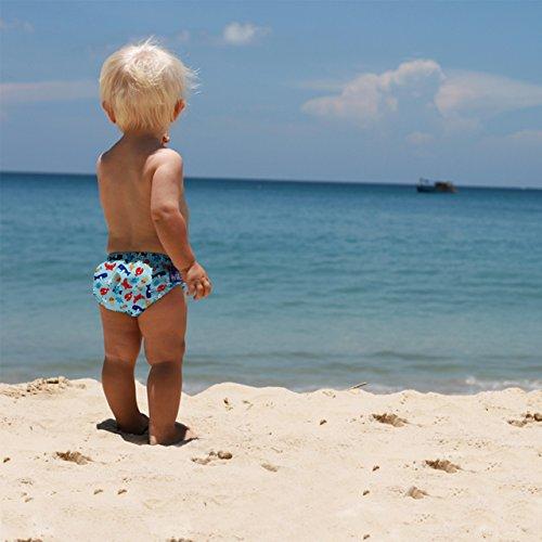 Bambino Mio, pañal bañador, deep sea blue, extra grande (2+ años)