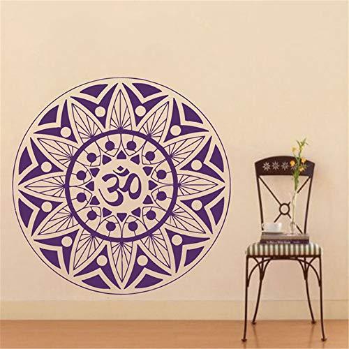 Ajcwhml Pinturas Murais Mandala Grande Vinilo Tatuajes