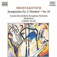 Symphonies 2 & 15