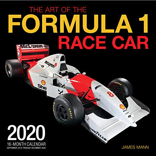The Art of the Formula 1 Race Car 2020: 16-Month Calendar - September 2019 through December 2020