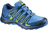 Salomon XA Lite GTX, Zapatillas de Trail Running para Hombre, Azul/Lima (Indigo Bunting/Snorkel Blue/Sulphur Spring), 44 EU