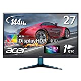 Acer ゲーミングモニター VG271UPbmiipx 27型 IPS WQHD 144Hz DisplayHDR400 1ms HDMI 2.0 非光沢 Free-Sync