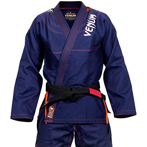 Venum Challenger 3.0 Kimono BJJ GI, Unisex Adulto, Azul/Naranja, A1