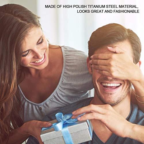 Pulsera ajustable para hombre, de moda, pulsera magnética de acero, para terapia magnética de titanio, alivio del dolor de iones negativos de germanio para artritis