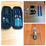 eGo - Kit de 2 cigarettes électroniques CE4 - 650mAh - Bleu -Sans nicotine ni tabac