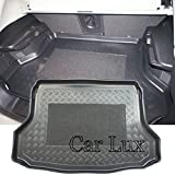 Car Lux AR03509 - Alfombra Bandeja Cubeta Protector cubre maletero a medida con antideslizante para X-Trail T32