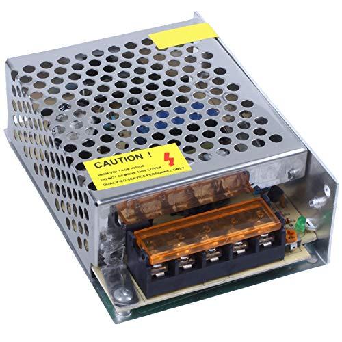 Baalaa Transformador de fuente de alimentación del interruptor de la CA 110-220V 24V 2A 48W para la luz de tira del LED