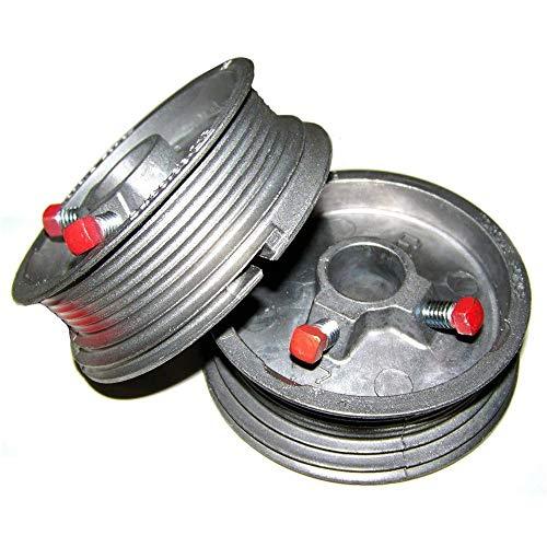 Garage Door Cable Drums Up to 8 High Doors 400-8 - One Pair