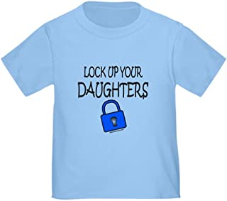 Lock UP Your Daughters Toddler Tshirt