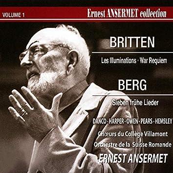 Ernest Ansermet Collection, Vol. 1: Les illuminations et War Requiem, Pt. 1 de Britten