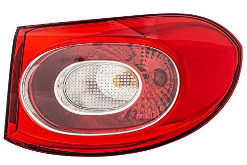 HELLA 2SD 009 691-101 Heckleuchte - Glühlampe - weiß/rot - äusserer Teil - rechts - für u.a. VW Tiguan (5N_)