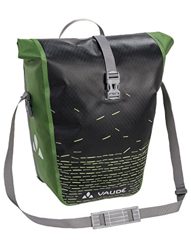VAUDE Radtaschen Aqua Back Print Single, black/green, one Size, 128040220