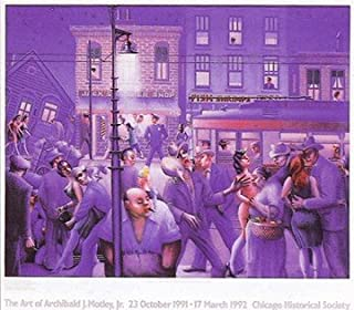 Bruce Teleky Casey and Mae in the Street by Archibald Motley 25.5