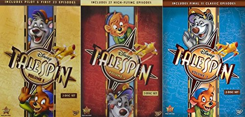 Disney TaleSpin: Volumes 1 2 3 Complete Series [DVD Box Set]