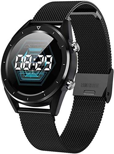 Reloj inteligente, ip68 impermeable podómetro rastreador de fitness, reloj inteligente con monitor de sueño, pulsera Bluetooth para deportes al aire libre