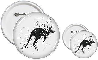 Australie Koala Kangourou Illustration Broches Badge Design Kit Artisanat