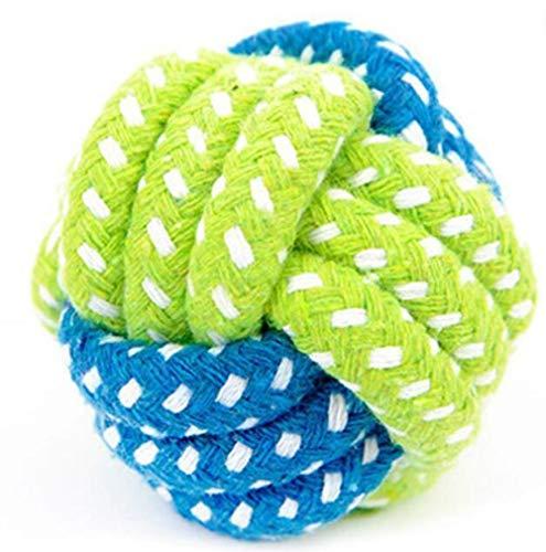 CHCY Hundespielzeug Hundeleine Spielzeugknoten Welpen kauen Zahnen Spielzeug Zähne Reinigung Haustier kleine Hunde Hardcore Ball Haustier Hund Spielzeug Kauspielzeug