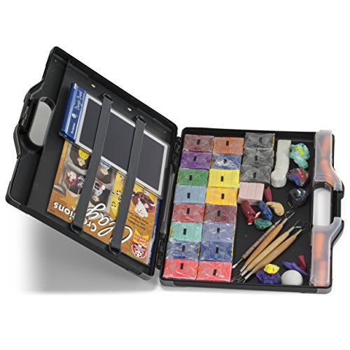 Officemate OIC Carry All Clipboard Storage Box, Letter/Legal Size, Black and Gray (83324) Photo #3