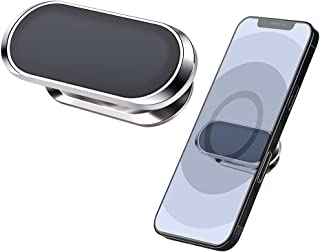 Magnetic Phone Car Mount, WORLDMOM Strong Magnet Cell Phone Holder for Car Dashboard Wall Compatible with Samsung iPhone A...