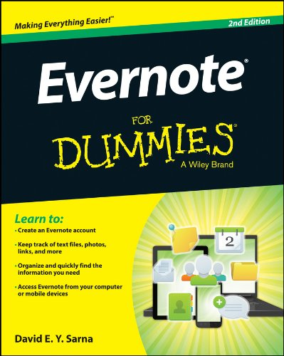 Evernote Dummies David Y Sarna