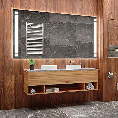 ARTTOR Espejos De Baño con Led - Espejo Pared - Decoracion Hogar - Espejos Decorativos De Pared - Muchos Tamaños - Pequeños y Grandes - M1ZP-08-50x70
