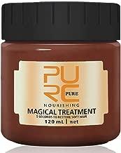PURC Hair Treatment Mask, 120ML Magical Hair Mask 5 Seconds Repairs Damage Hair Root Hair Tonic Keratin Hair & Scalp Treatment