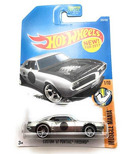 Hot Wheels 2017 Muscle Mania Custom '67 Pontiac Firebird 335/365, Silver