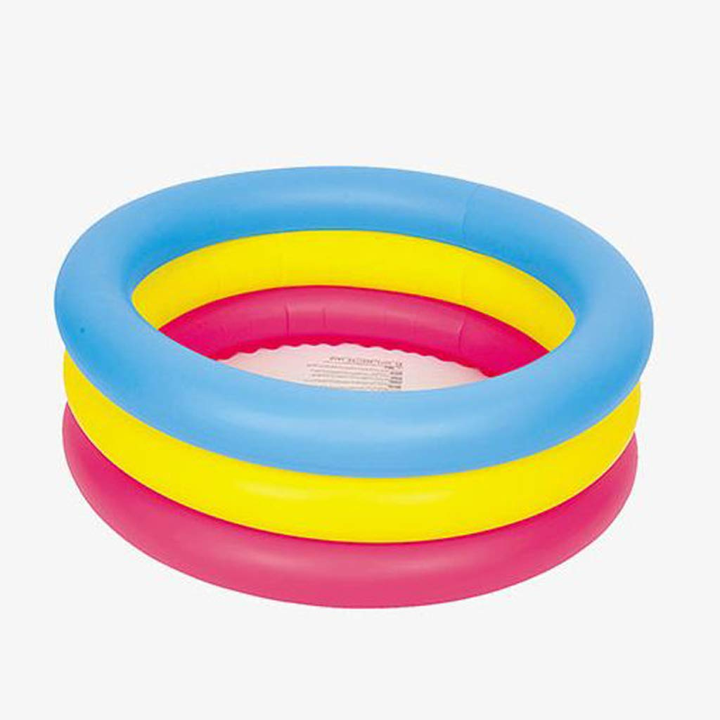 Pool- Bañera Inflable para niños Redonda Piscina Ducha Piscina ...