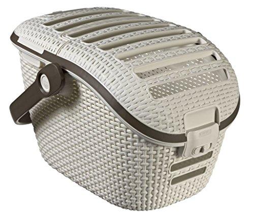 Curver Pet Transportbox L: 51 cm B: 38 cm H: 33 cm weiss