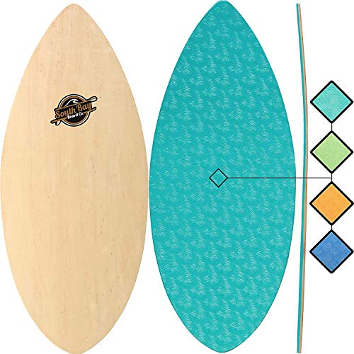 "Skimboards - Performance Foam Textured Deck Skim Board - 41"" Skipper Skimboard (Aqua)"