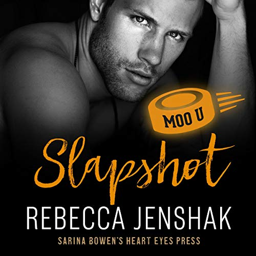 Slapshot Audiobook By Rebecca Jenshak, Heart Eyes Press cover art