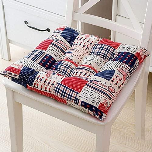 Sitzkissen, verdicktes quadratisches Sitzkissen mit Krawatte, Stuhlkissen im Freien, 4 Esszimmer, komfortables Kissen-Design, weiches Stuhlkissen lassen sich nicht leicht in einen bequemen Sitz verwa