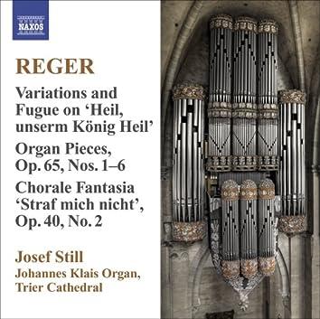 Reger, M.: Organ Works, Vol.  9