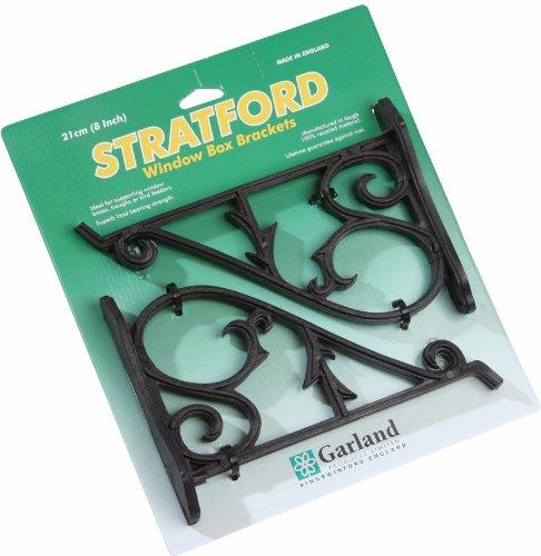 Garland Stratford Jeu de 2 Supports pour balconnière