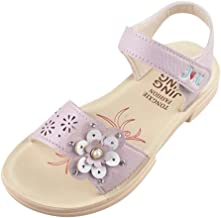 Baby Sandals, MS-SM Baby Toddler Infant Little Kids Girls Summer Flower Barefoot Pearl Princess Beach Casual Shoes